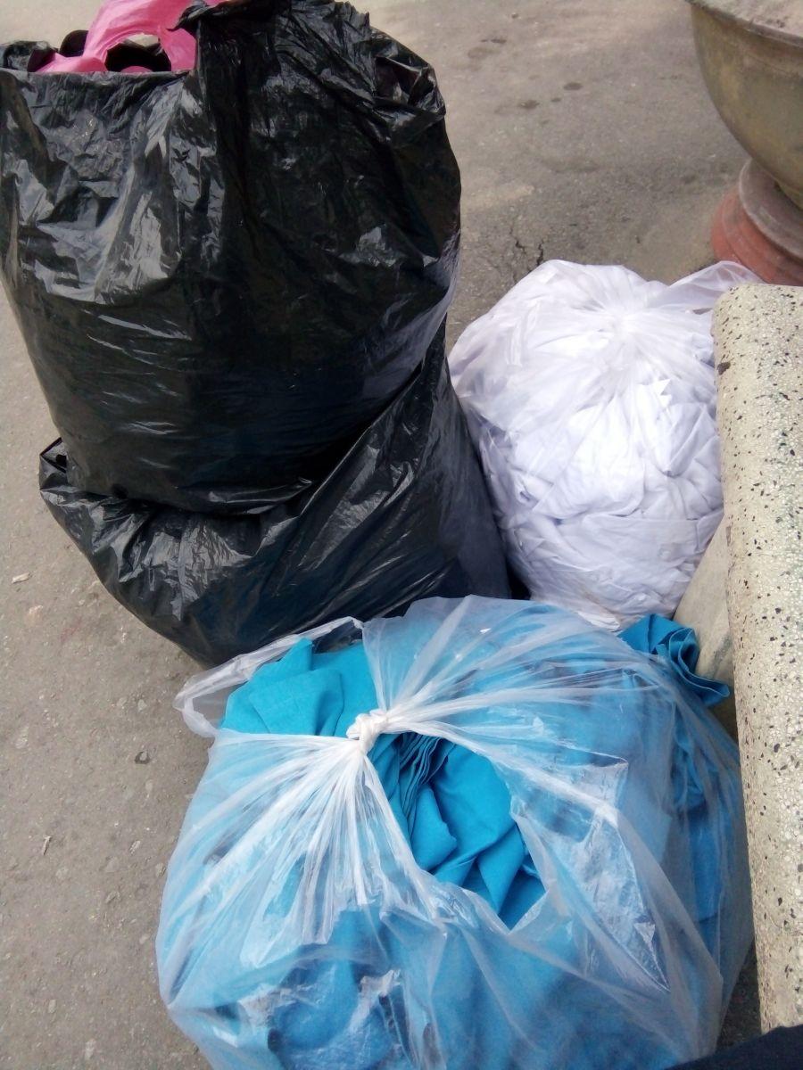 hủy hàng vải thải