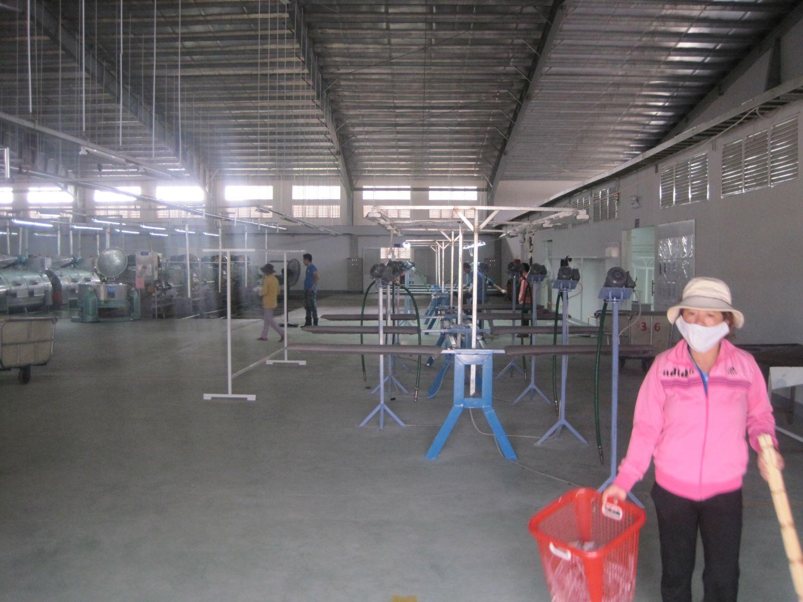 Nhà máy wash Bình Định