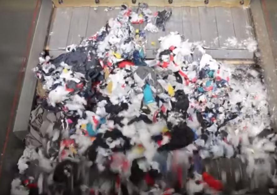 tiêu hủy vải thải