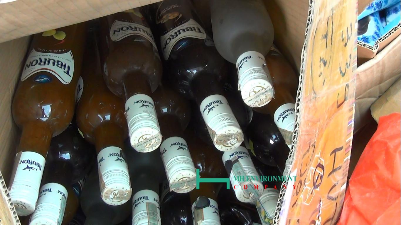tiêu hủy rượu giả